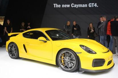 Porsche to unveil racing version of Cayman GT4