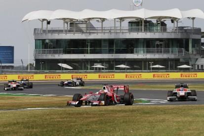 Silverstone F2: Ferrari F1 junior Leclerc fastest ahead of Rowland