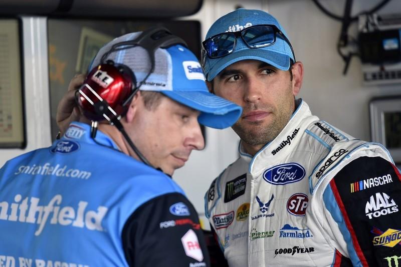 Injured NASCAR driver Aric Almirola cleared to race again