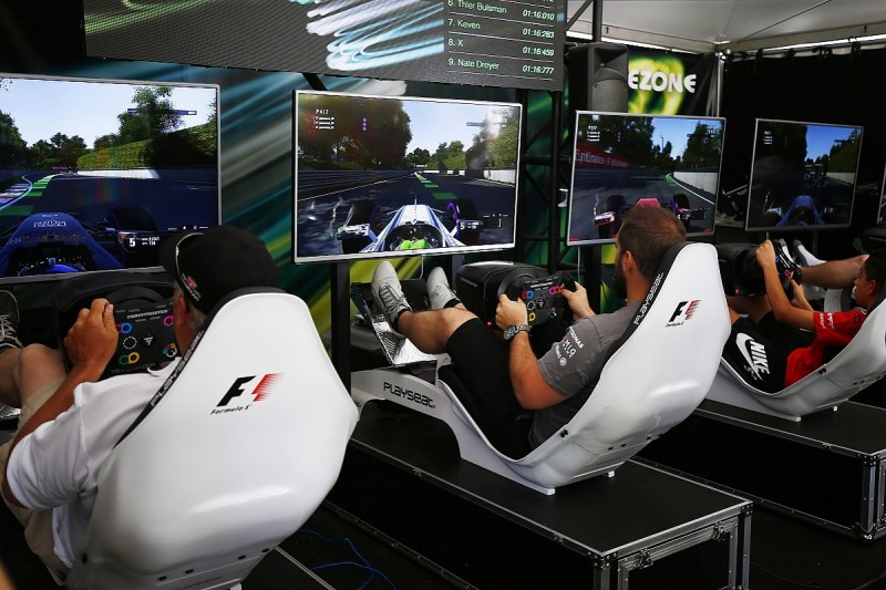 Formula 1 considering using gamers to trial new rules