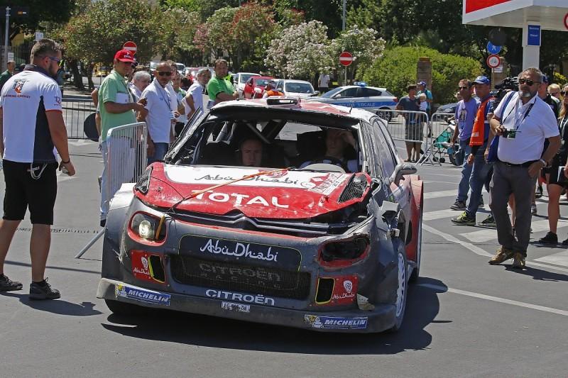 Citroen writes off its 2017 World Rally Championship season