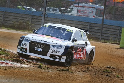 Istanbul World Rallycross: Audi's Mattias Ekstrom ahead after heats
