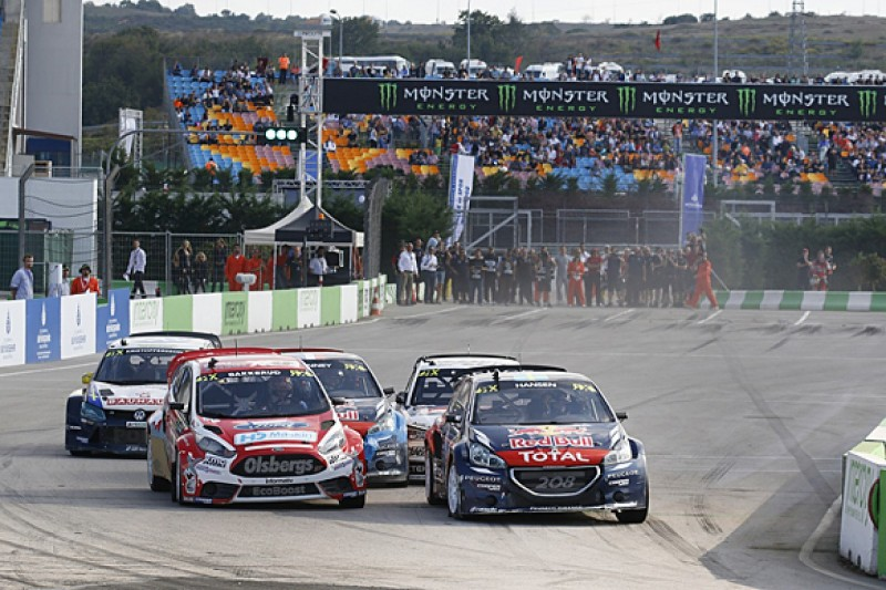 Istanbul World Rallycross: Peugeot's Timmy Hansen takes victory