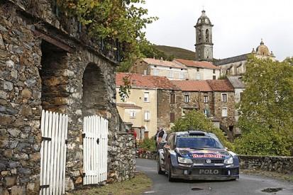 WRC Tour of Corsica: Jari-Matti Latvala closes on Elfyn Evans' lead