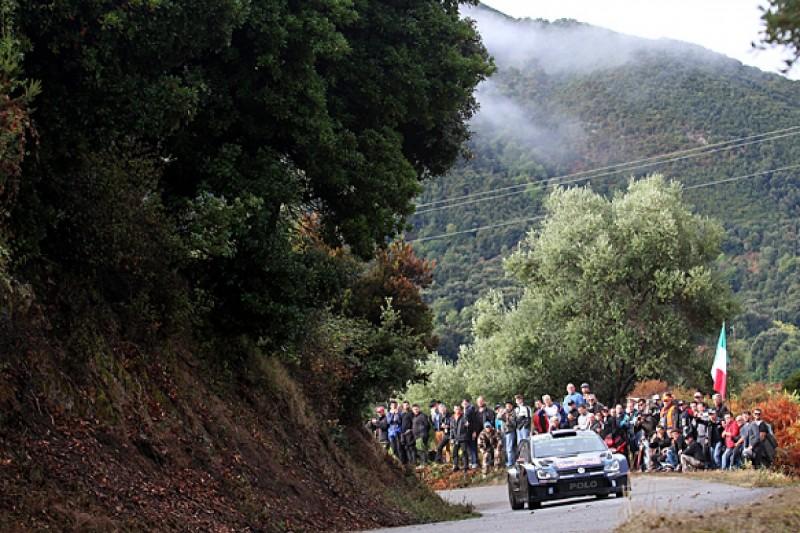 WRC Tour of Corsica: Jari-Matti Latvala deposes leader Elfyn Evans