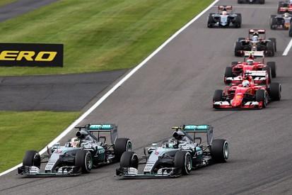 Toto Wolff denies Nico Rosberg is weak in Lewis Hamilton F1 battles