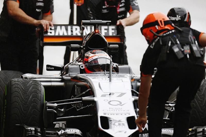 Nico Hulkenberg: Too much practice in Formula 1 grand prix weekends