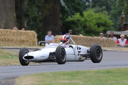 Formula Juniors set pace at Chateau Impney hillclimb revival
