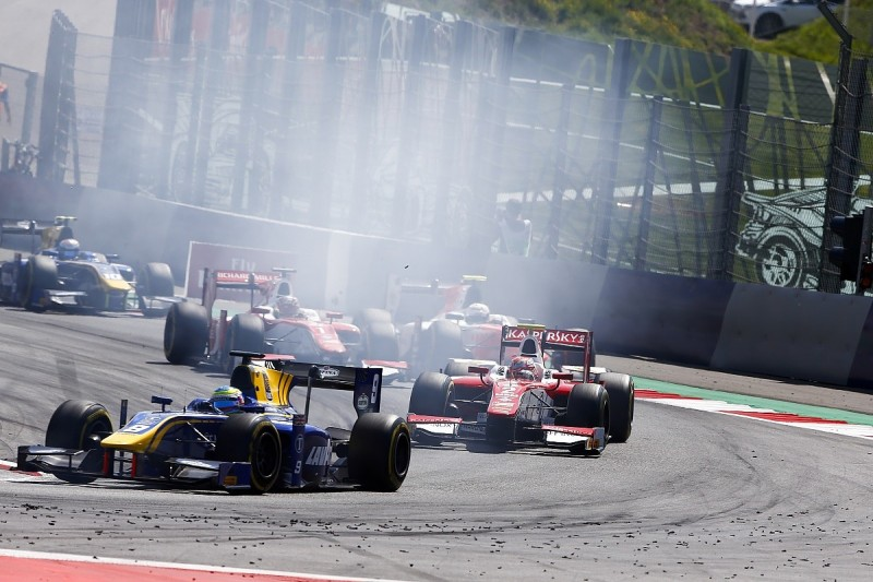 Fuoco and Rowland disagree over F2 clash that eliminated Leclerc