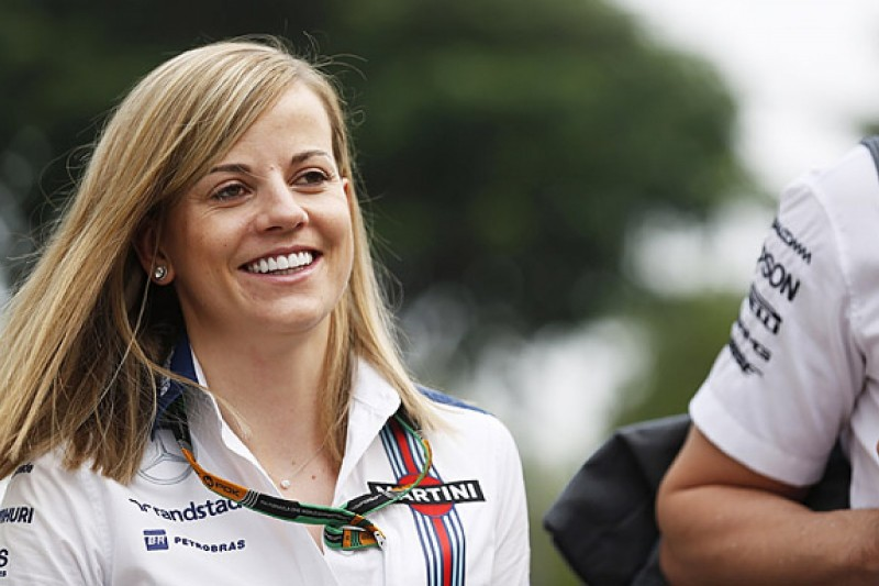 Williams F1 test driver Susie Wolff enters 2015 Race of Champions