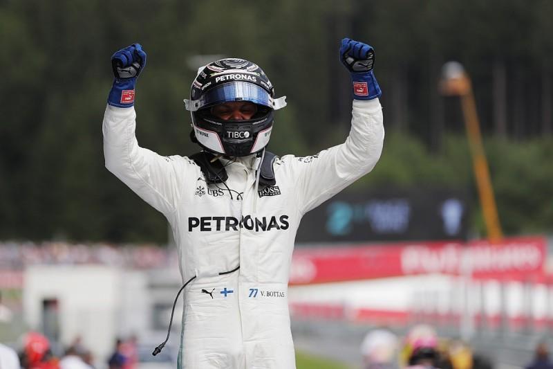 Austrian Grand Prix: Bottas fends off Vettel for second F1 win