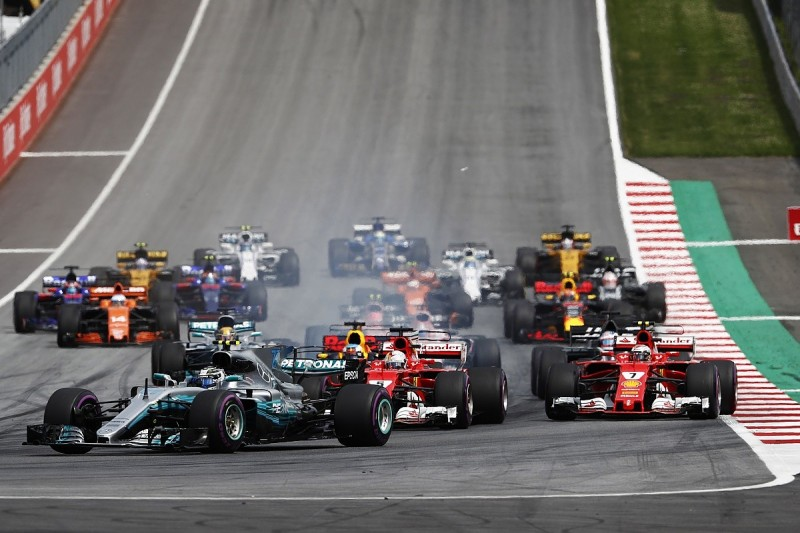 Ferrari's Vettel certain F1 Austrian GP winner Bottas jumped start