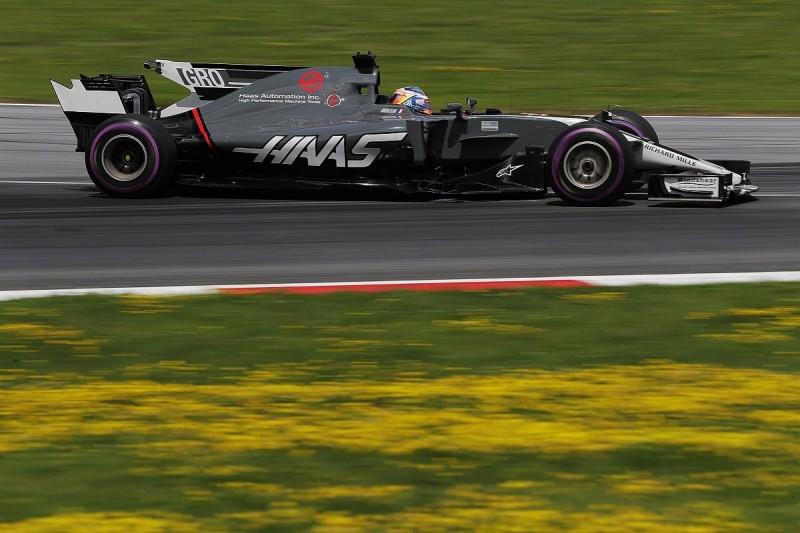 Romain Grosjean: Haas won 'Formula 1 Grand Prix 2' in Austria