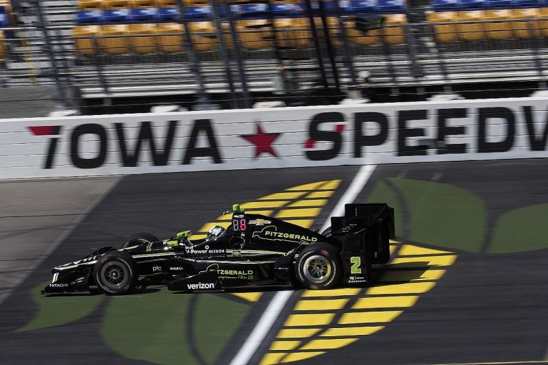 Iowa IndyCar: Josef Newgarden heads Penske 1-2-3 in practice