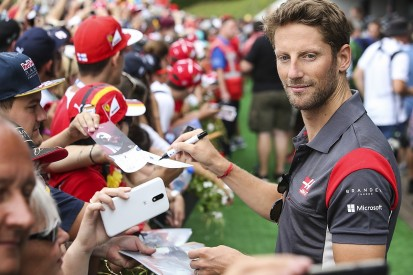 Haas F1 driver Romain Grosjean thought he might beat a Red Bull