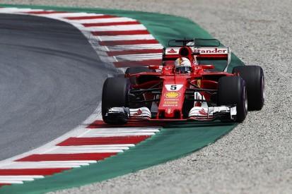 Vettel fastest in Austrian GP FP3 as Hamilton suffers brake failure