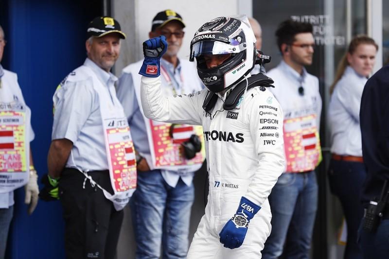 Bottas beats Vettel to Austrian GP pole, Hamilton to start eighth