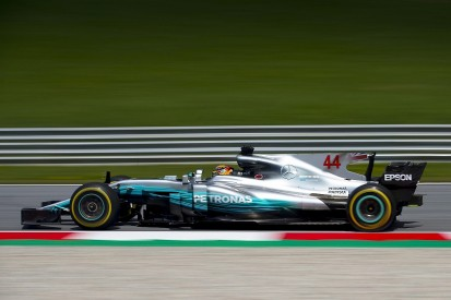 Lewis Hamilton: Austrian practice Mercedes' best Friday of 2017