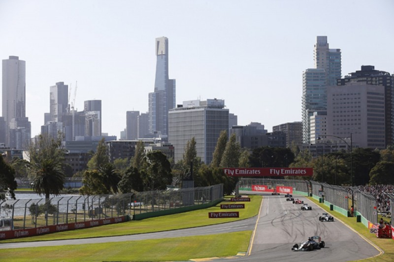 2016 F1 Australian Grand Prix date brought forward by two weeks