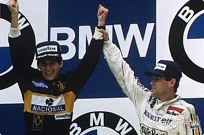 Souvenirs d'Autriche - Quand Tambay défiait Senna... à jetski!