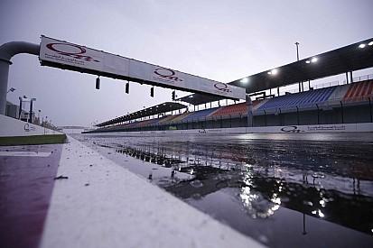 Дождь вмешался в ход тестов MotoGP в Катаре