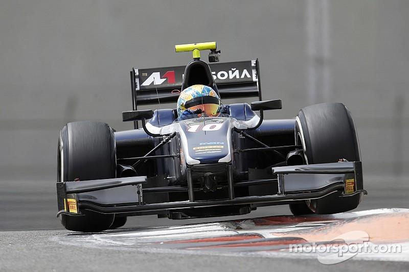 GP2 - Russian Time conserve Evans et Markelov