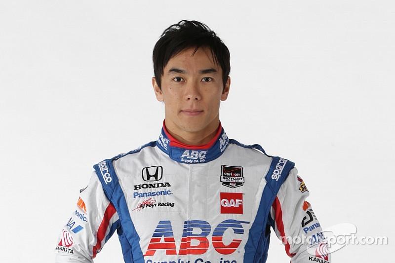 Takuma Sato salue l'arrivée de Carlin aux Etats-Unis