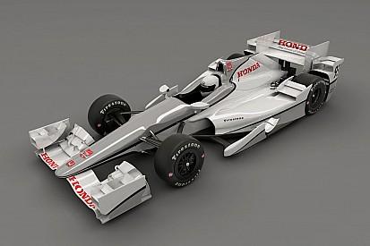 IndyCar - Honda dévoile son kit aérodynamique 2015