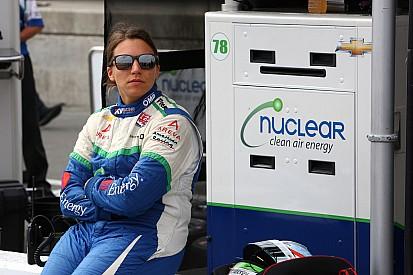 Simona de Silverstro de retour en IndyCar