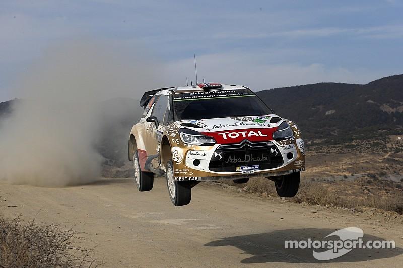 WRC - Citroën veut capitaliser sur son premier podium