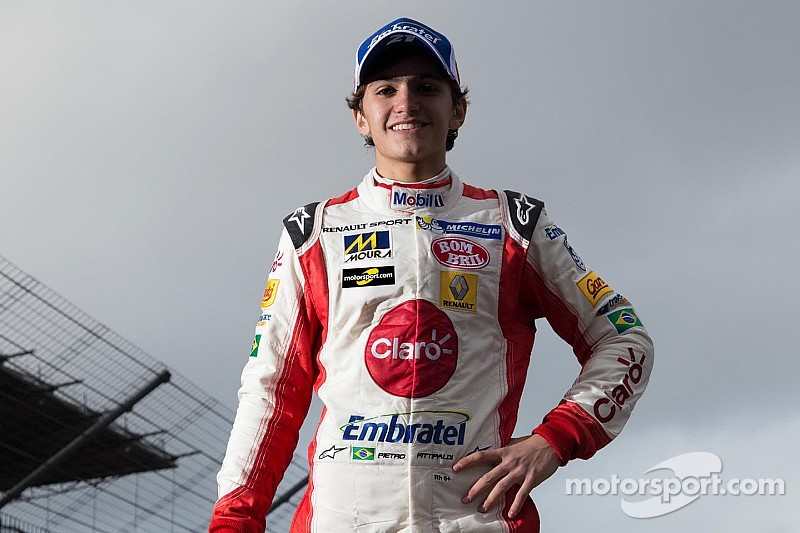 Pietro Fittipaldi soutenu par Motorsport.com en 2015