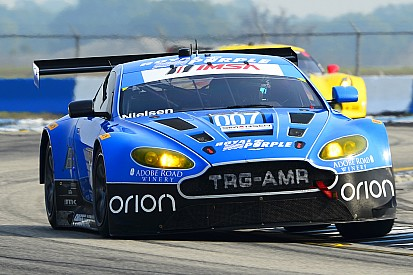 TRG-Aston Martin Racing at the 12 Hours of Sebring with victory in their sights
