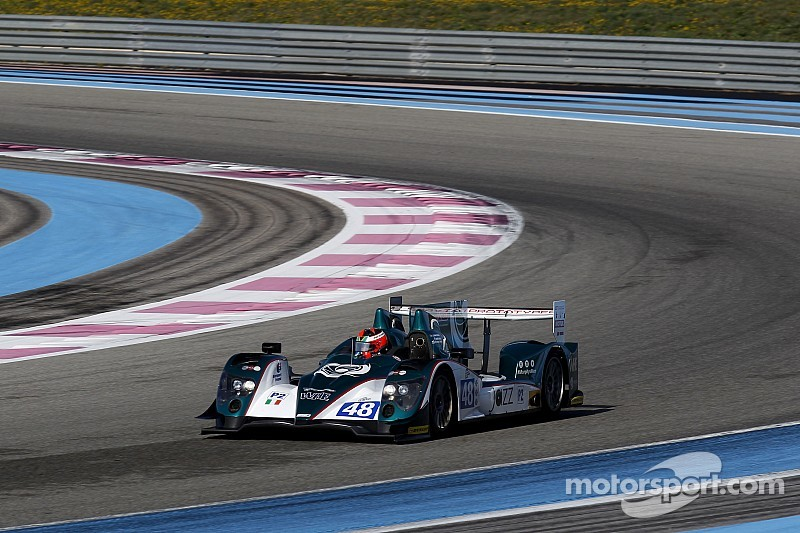 Berthon heads the times at Paul Ricard ELMS test