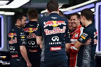 Vettel: Ferrari better than 2014 Red Bull