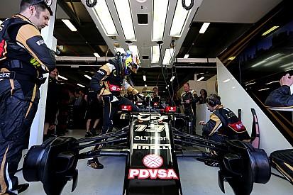Maldonado dice que Lotus está cerca de Ferrari y Williams