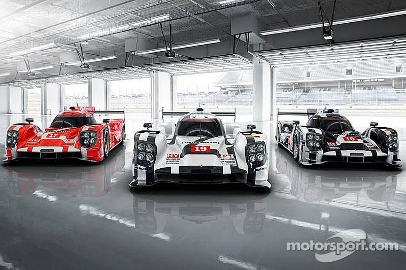 Trois livrées distinctes pour Porsche en WEC et au Mans