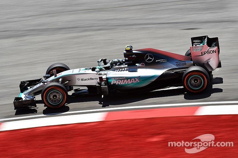 Rosberg garde lui aussi un œil sur Ferrari
