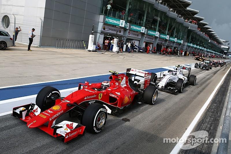 Гран При Малайзии 2015 – стартовая решетка