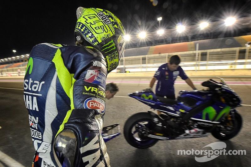 """""""Pas si mal"""" jugent les pilotes Yamaha après les qualifs"""