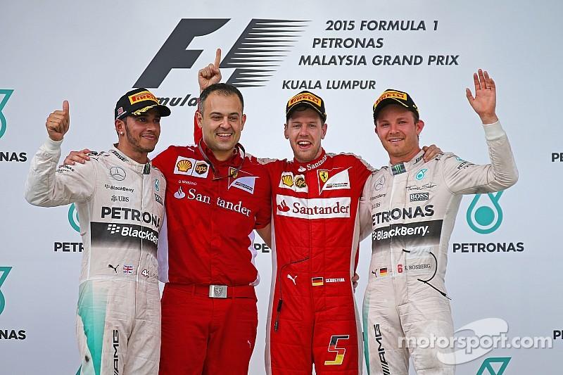 Vettel gives Ferrari its first win since 2013