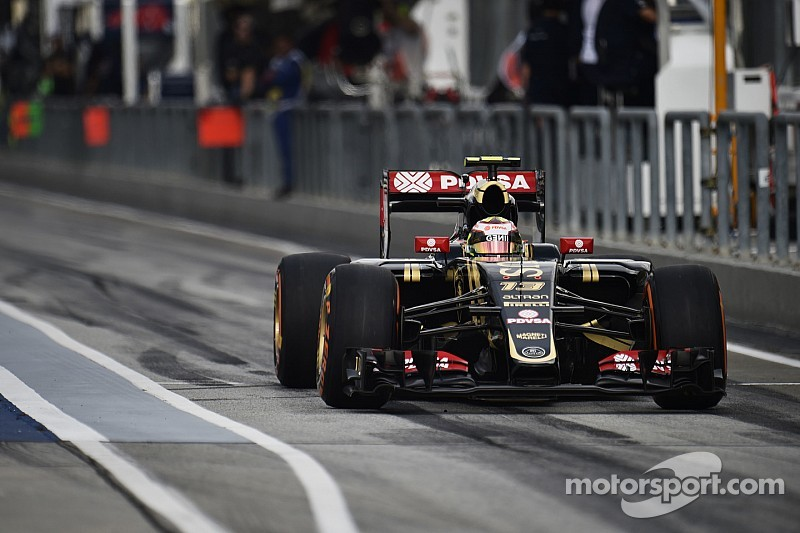 Maldonado à 4 points d'une suspension