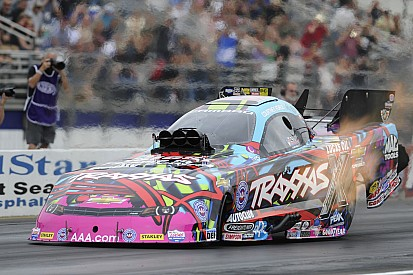 C. Force, Todd, Mcgaha and Arana Jr. race to No. 1 qualifying positions at NHRA Four Wide-Nationals