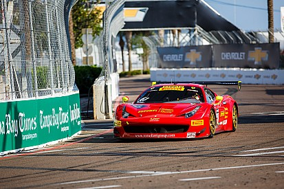 Olivier Beretta takes his second Pirelli World Challenge win