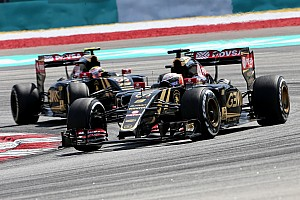 Formula 1 Race report Lotus' Grosjean finished just shy of the points in Malaysia