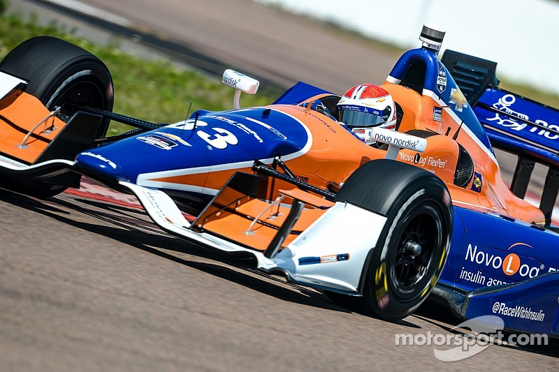Kimball and Rahal not seeing eye-to-eye after St. Pete collision