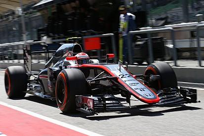 Button claims McLaren front wing breakthrough