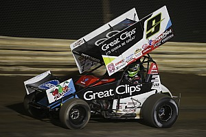 World of Outlaws Race report Daryn Pittman edges Paul McMahan at Antioch