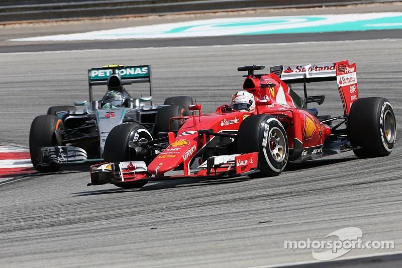 Ferrari teme la reacción de Mercedes en China