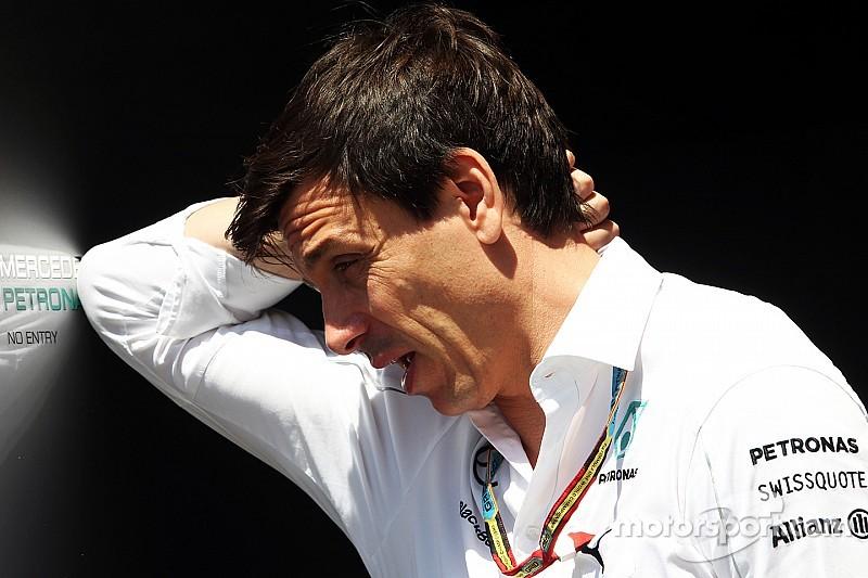 Wolf y Mercedes, preocupados por Ferrari