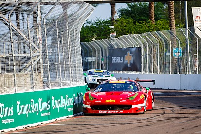 Scuderia Corsa Ferraris survive first Pirelli World Challenge street circuit of the year